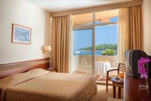 Double/Triple room Premium with balcony and sea view