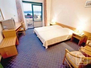 Dvoj-/trojlôžková izba s balkónom, výhľad na more