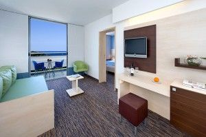 Superior suite with balcony and seaview
