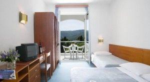 Trojlôžková izba Standard, výhľad na more, balkón