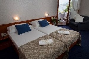 Comfort Double Room with Balcony and Sea View