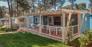 Mobile home for 6-8 persons Marine Premium Family