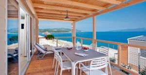 Mobile home for 4-6 persons Premium with spectacular sea view
