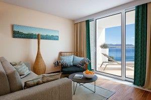 Suite pre rodiny superior, výhľad na more - Premium Villas