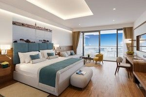 Premium suite with balcony and seaview