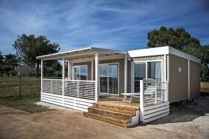 Mobile home for 4 persons, Brioni Beach