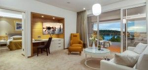 Executive suite for 4 persons