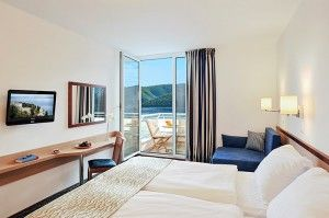 Superior triple room, Seaview, Balcony