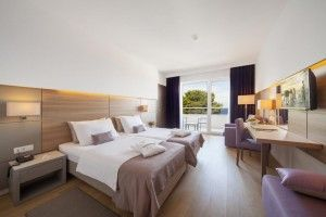 Premium Club izba - priamy výhľad na more, balkón